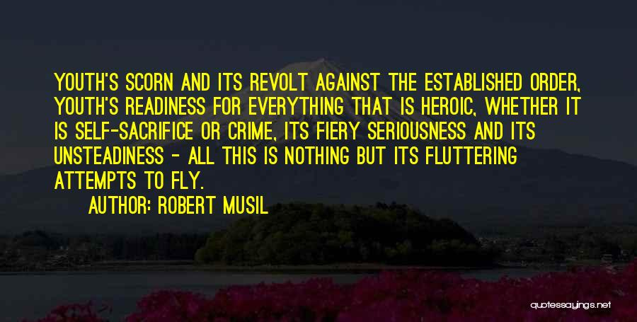 Youth In Revolt Quotes By Robert Musil