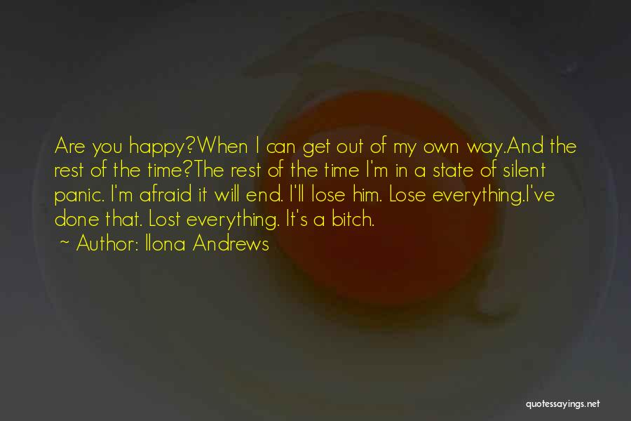 You've Lost Him Quotes By Ilona Andrews