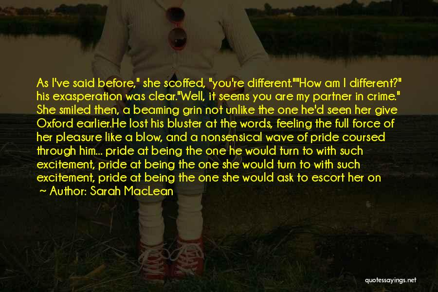 You've Lost Him Quotes By Sarah MacLean