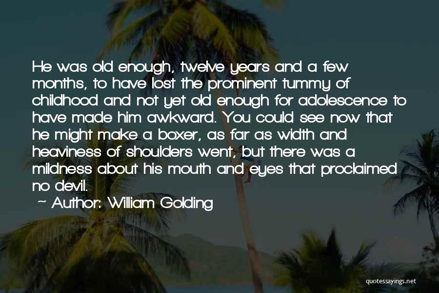 You've Lost Him Quotes By William Golding