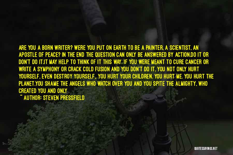 You've Only Got Yourself Quotes By Steven Pressfield