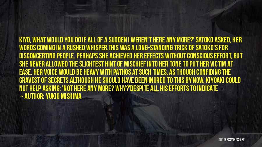 Yukio Mishima Quotes 1893291