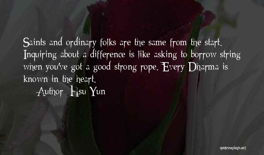 Yun Oh Quotes By Hsu Yun