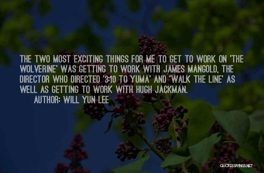 Yun Oh Quotes By Will Yun Lee