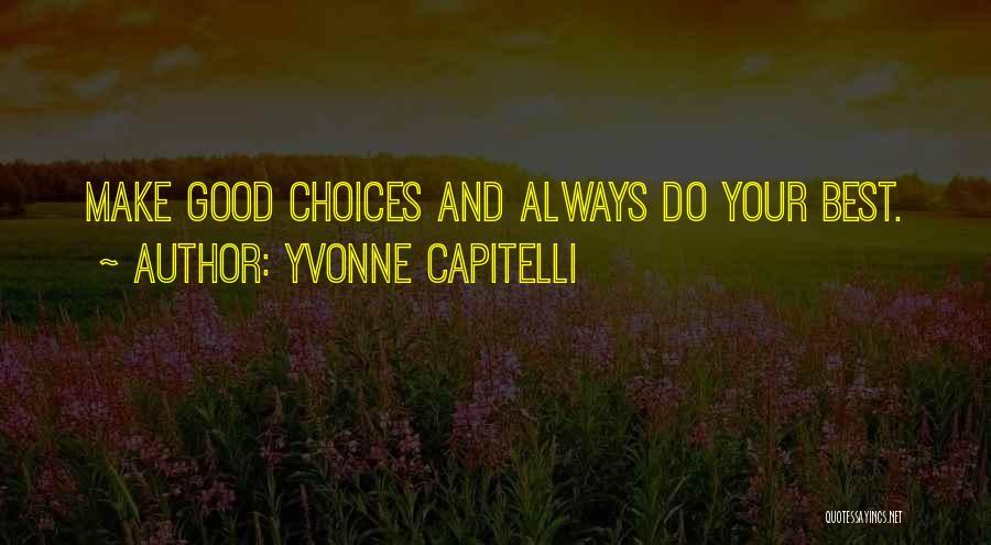 Yvonne Capitelli Quotes 1511042