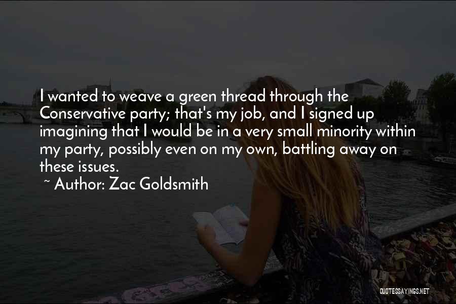 Zac Goldsmith Quotes 1043267