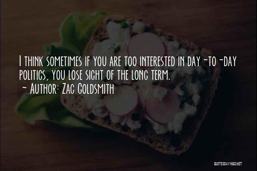 Zac Goldsmith Quotes 1555139