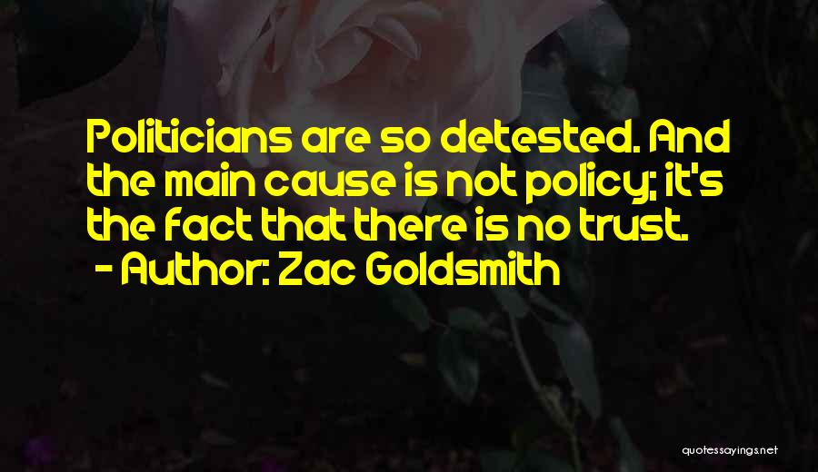 Zac Goldsmith Quotes 727500