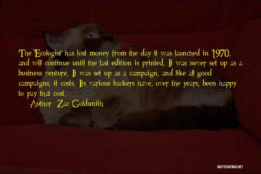 Zac Goldsmith Quotes 758500