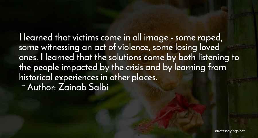 Zainab Salbi Quotes 1102351