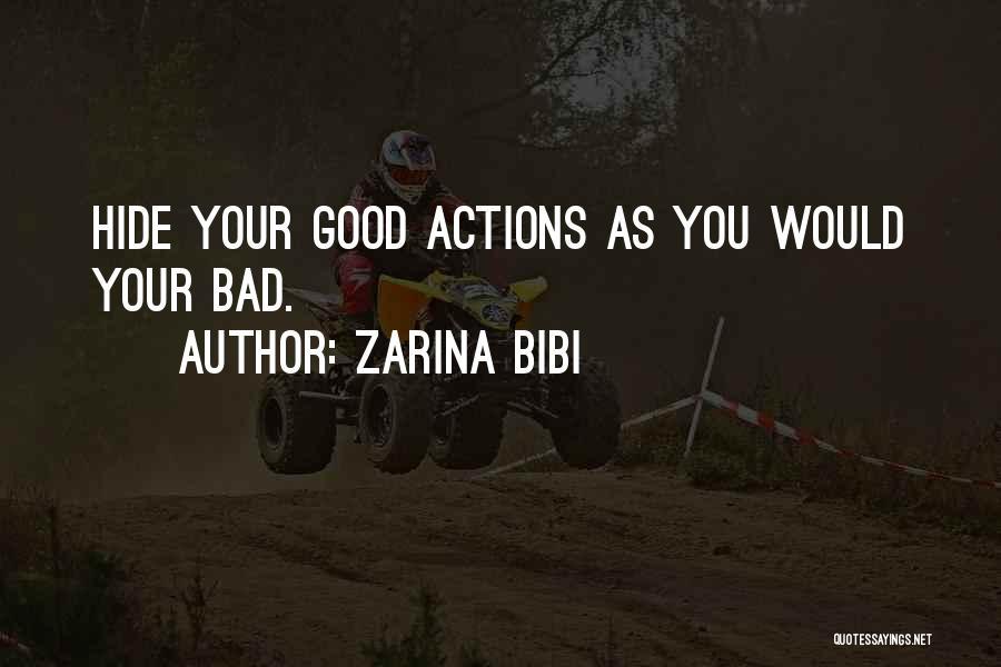 Zarina Bibi Quotes 1967063