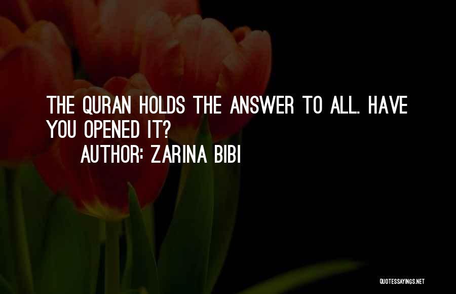 Zarina Bibi Quotes 316807