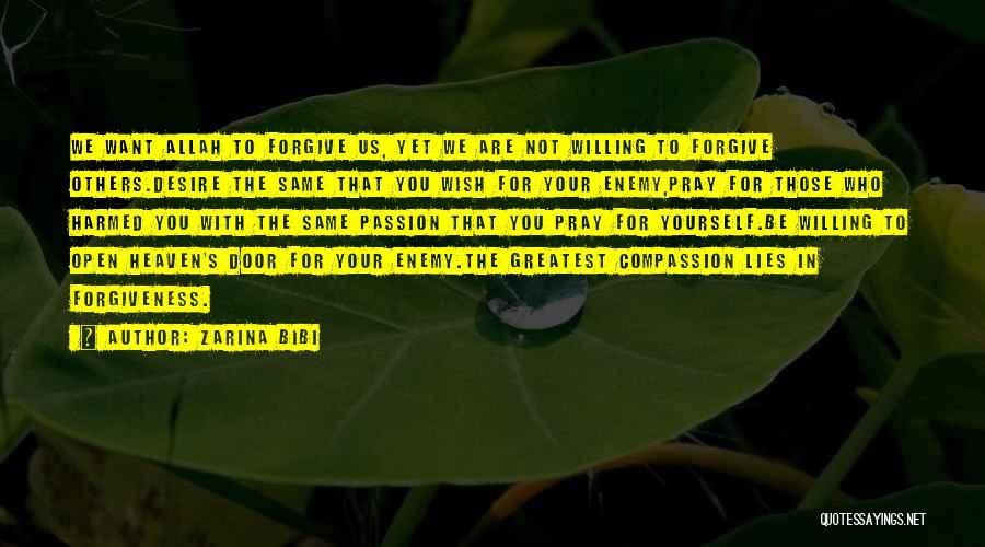 Zarina Bibi Quotes 486304