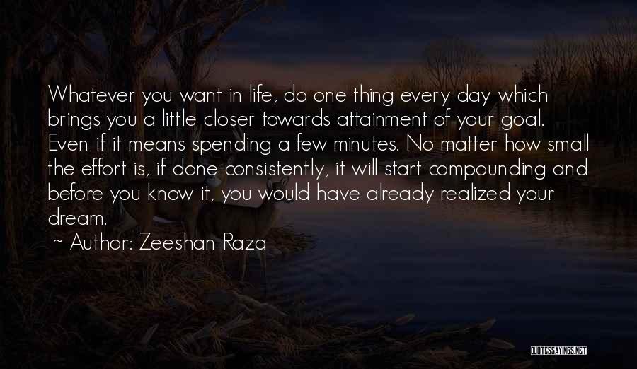 Zeeshan Raza Quotes 1821995