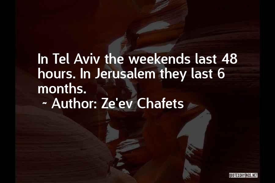 Ze'ev Chafets Quotes 988017