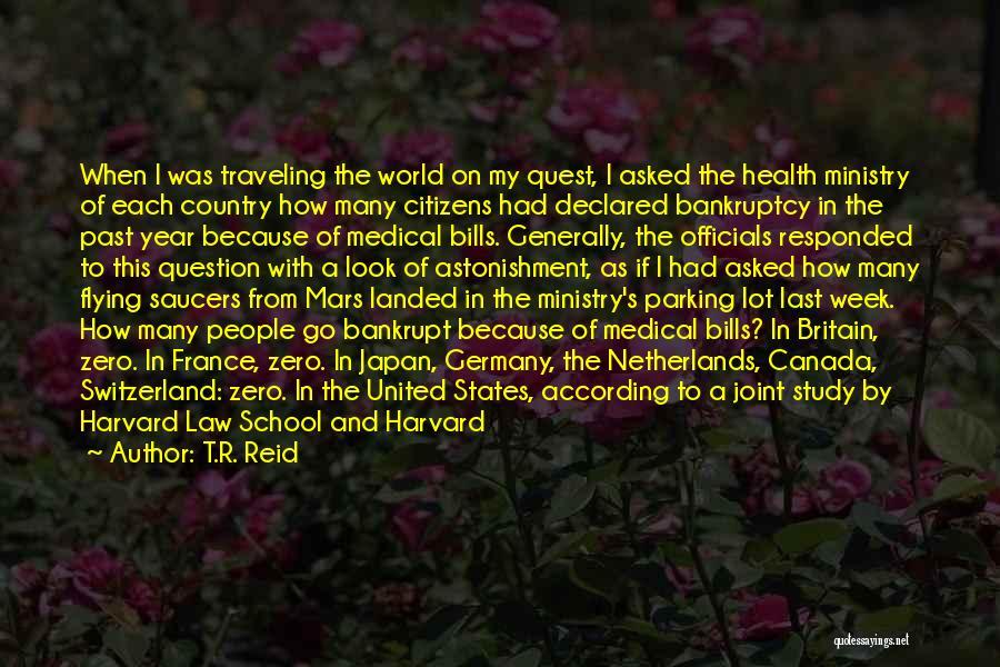 Zero Figure Quotes By T.R. Reid