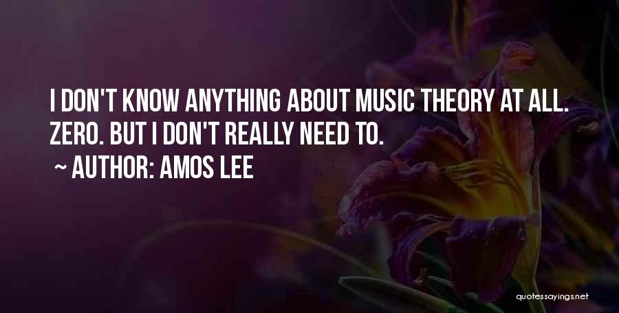 Zero The Third Quotes By Amos Lee