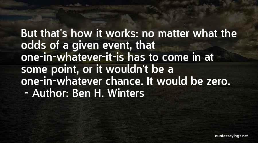 Zero The Third Quotes By Ben H. Winters