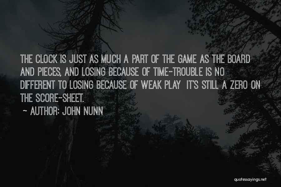 Zero The Third Quotes By John Nunn