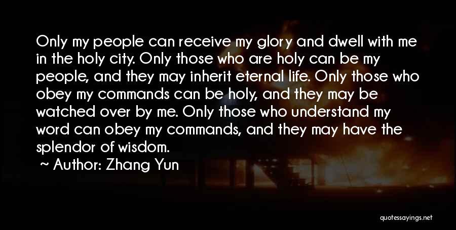 Zhang Yun Quotes 389756