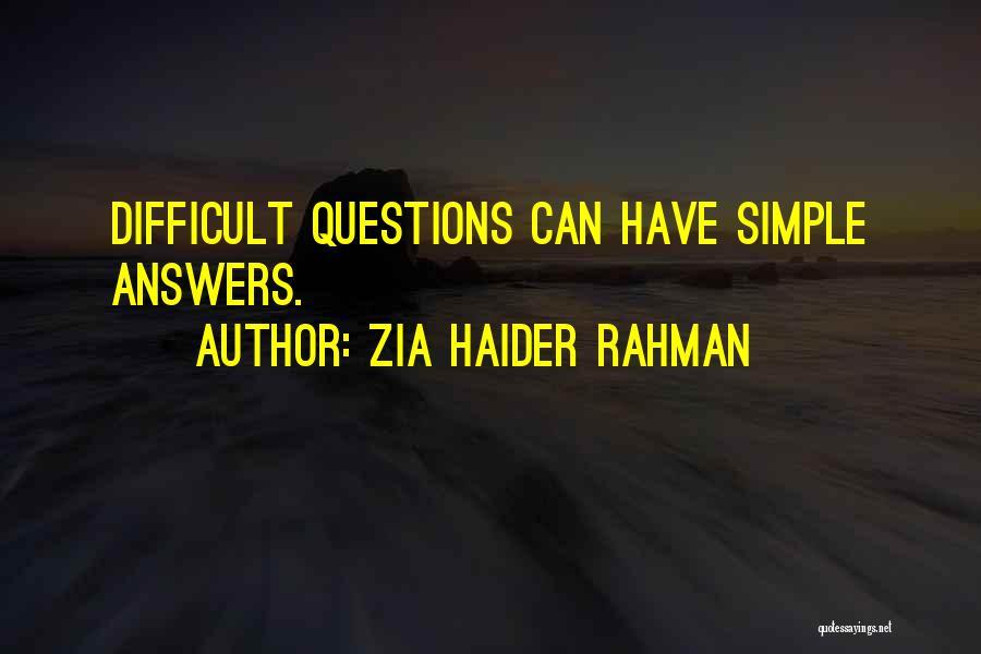 Zia Haider Rahman Quotes 1689485