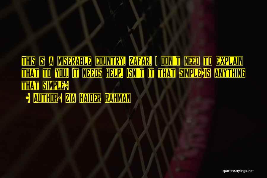 Zia Haider Rahman Quotes 2019449