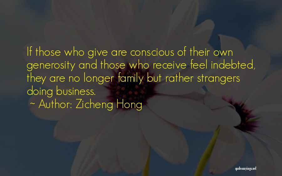 Zicheng Hong Quotes 1263102