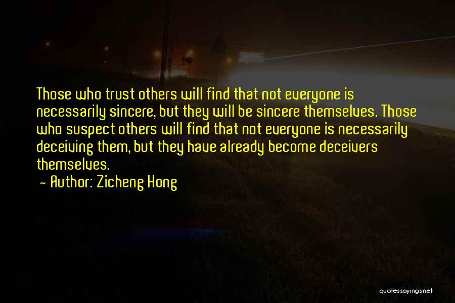 Zicheng Hong Quotes 1433196