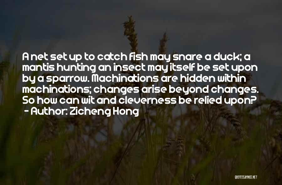 Zicheng Hong Quotes 1788789