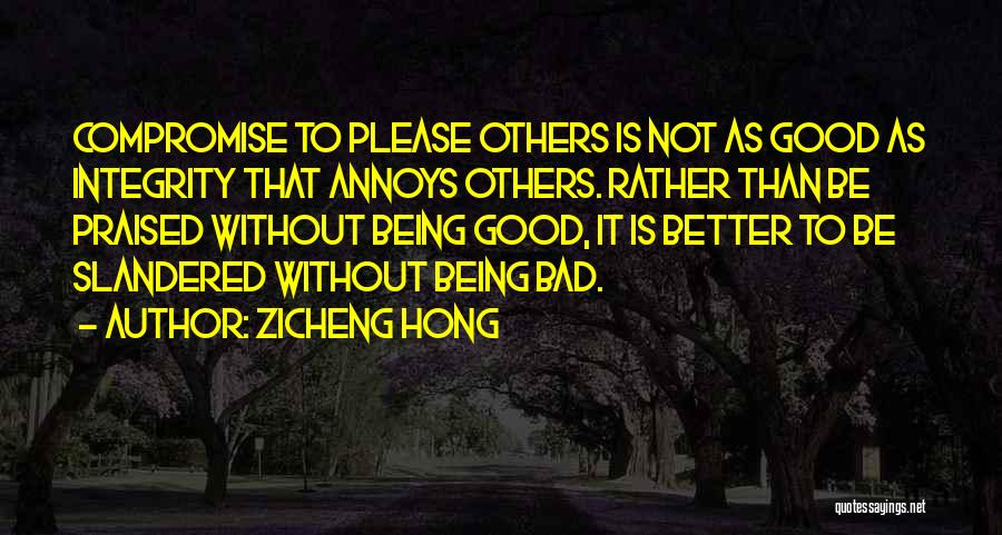 Zicheng Hong Quotes 1999978