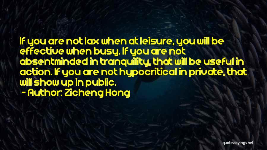 Zicheng Hong Quotes 2197240