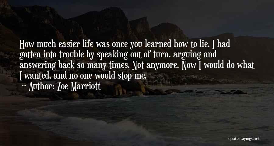 Zoe Marriott Quotes 1090912