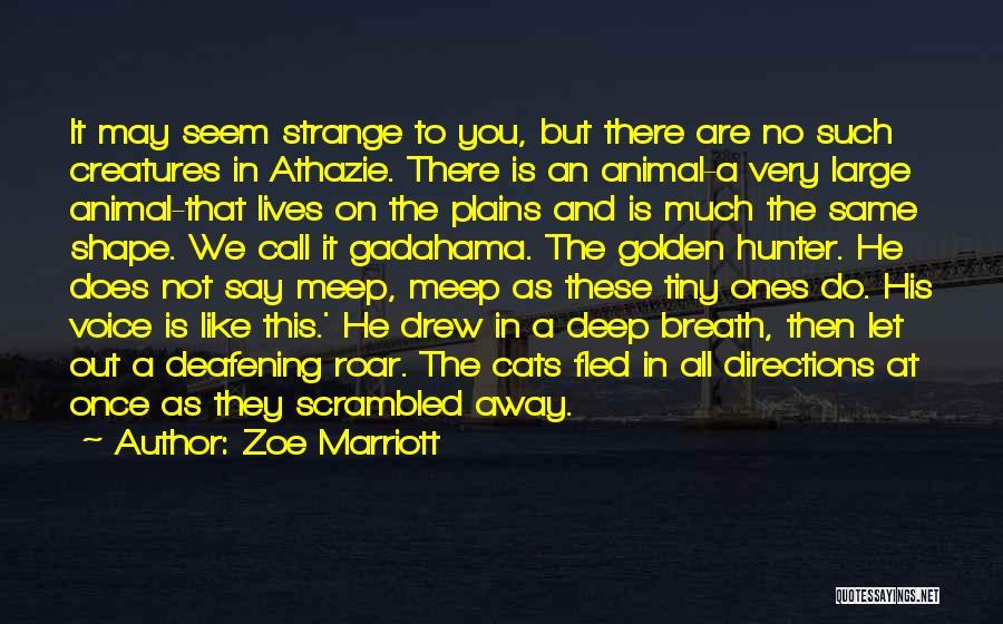 Zoe Marriott Quotes 1242639