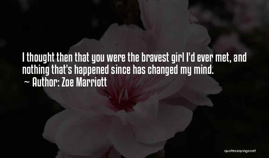 Zoe Marriott Quotes 1715578