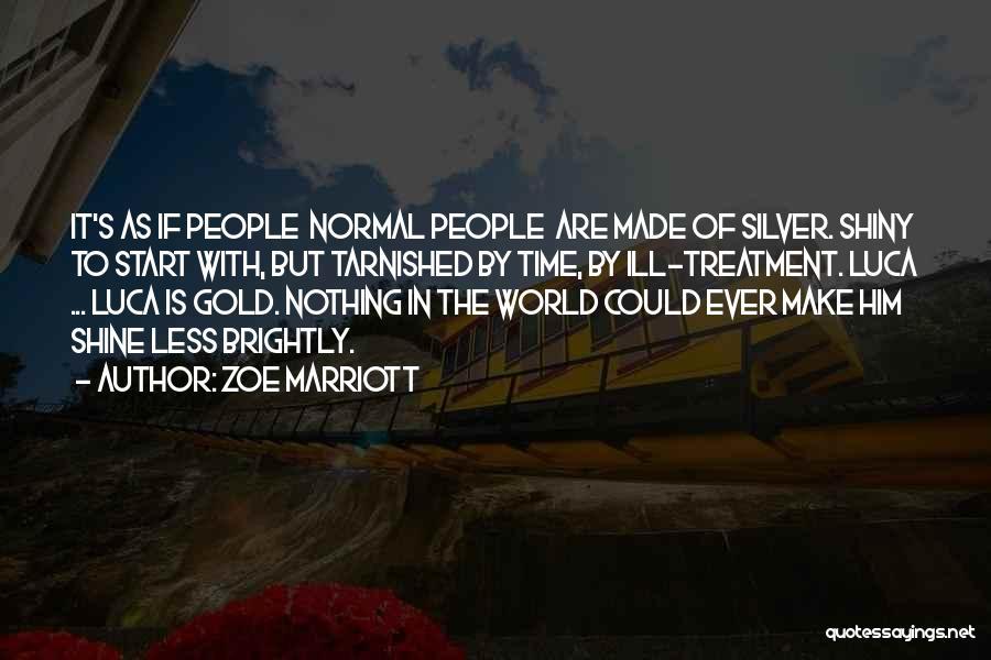 Zoe Marriott Quotes 336544
