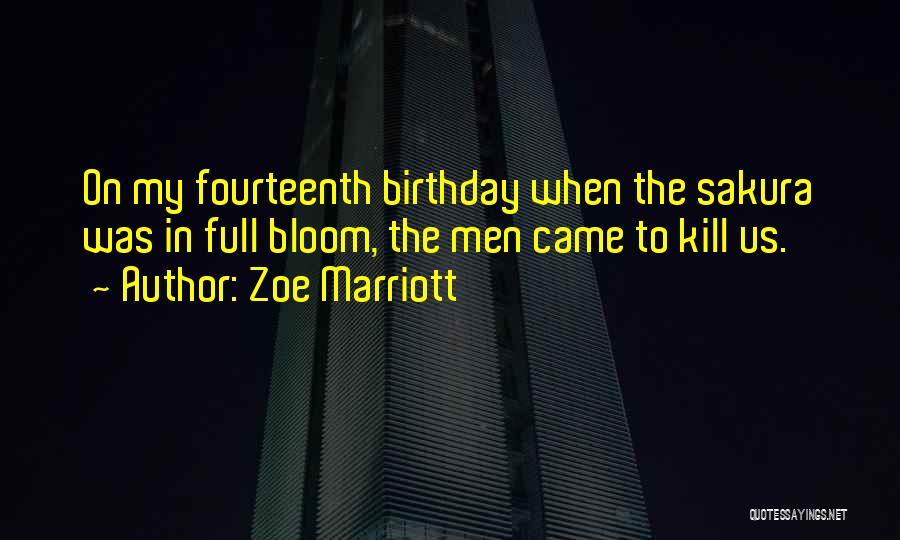 Zoe Marriott Quotes 941493