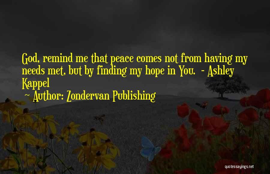 Zondervan Publishing Quotes 135783