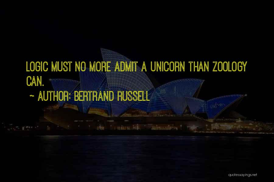 Zoology Quotes By Bertrand Russell