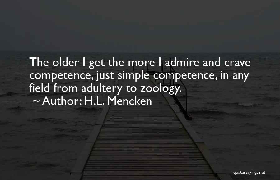 Zoology Quotes By H.L. Mencken