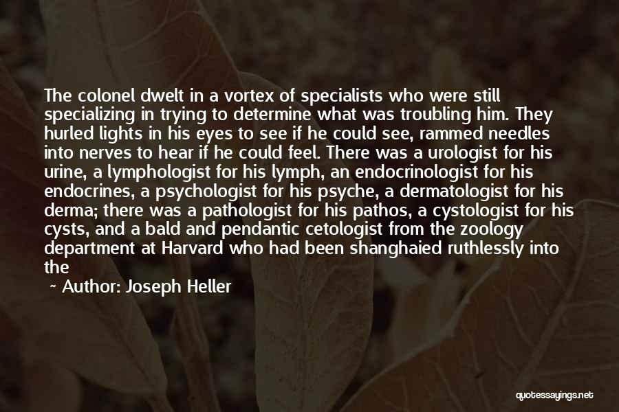 Zoology Quotes By Joseph Heller