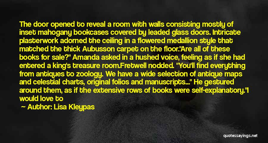 Zoology Quotes By Lisa Kleypas