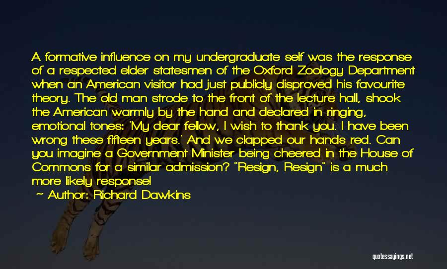 Zoology Quotes By Richard Dawkins