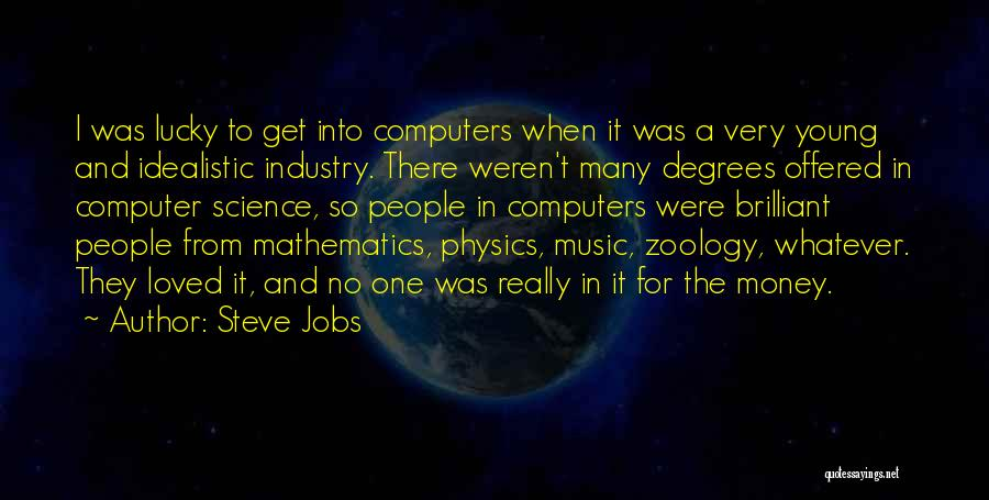 Zoology Quotes By Steve Jobs