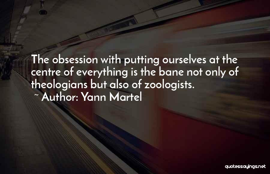 Zoology Quotes By Yann Martel