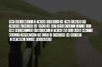 Best Ellen Oscar Quotes