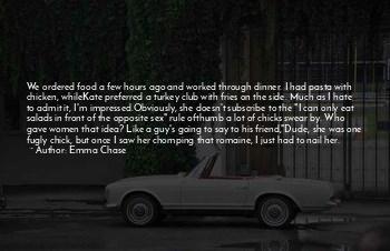 Chicken Dinner Quotes