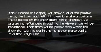 Cosplay Inspirational Quotes