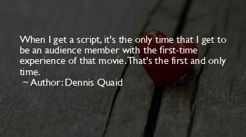Dennis Quaid Movie Quotes