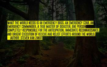Quotes About Disaster Relief