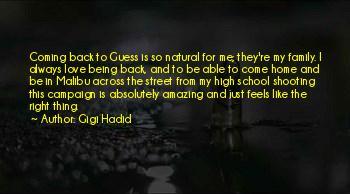 Hadid Quotes